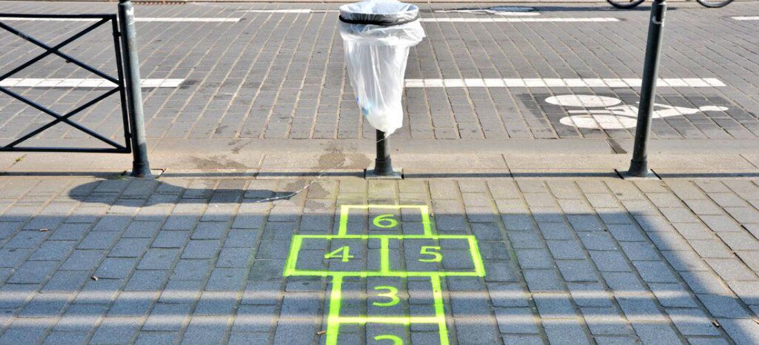 marelle poubelle Lille - Street Diffusion