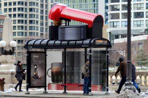 street marketing Nespresso - street marketing