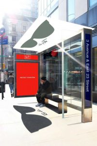street marketing Rayban - street diffusion