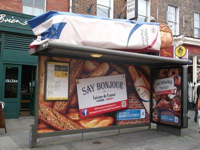street marketing abribus - Street Diffusion