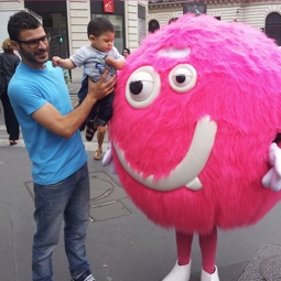 Mascotte street marketing - Street Diffusion