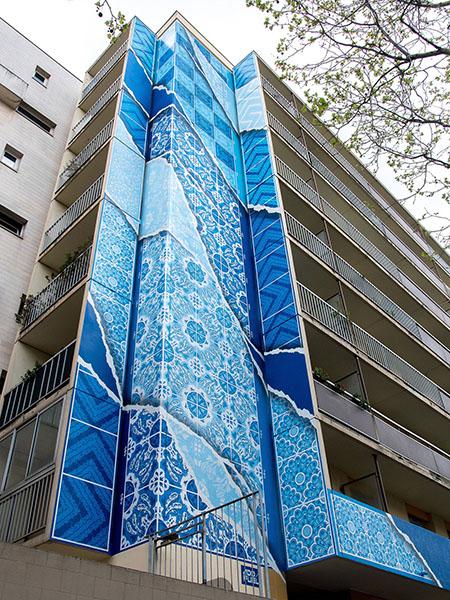 Envolvente, le street art de Add Fuel - Street Diffusion
