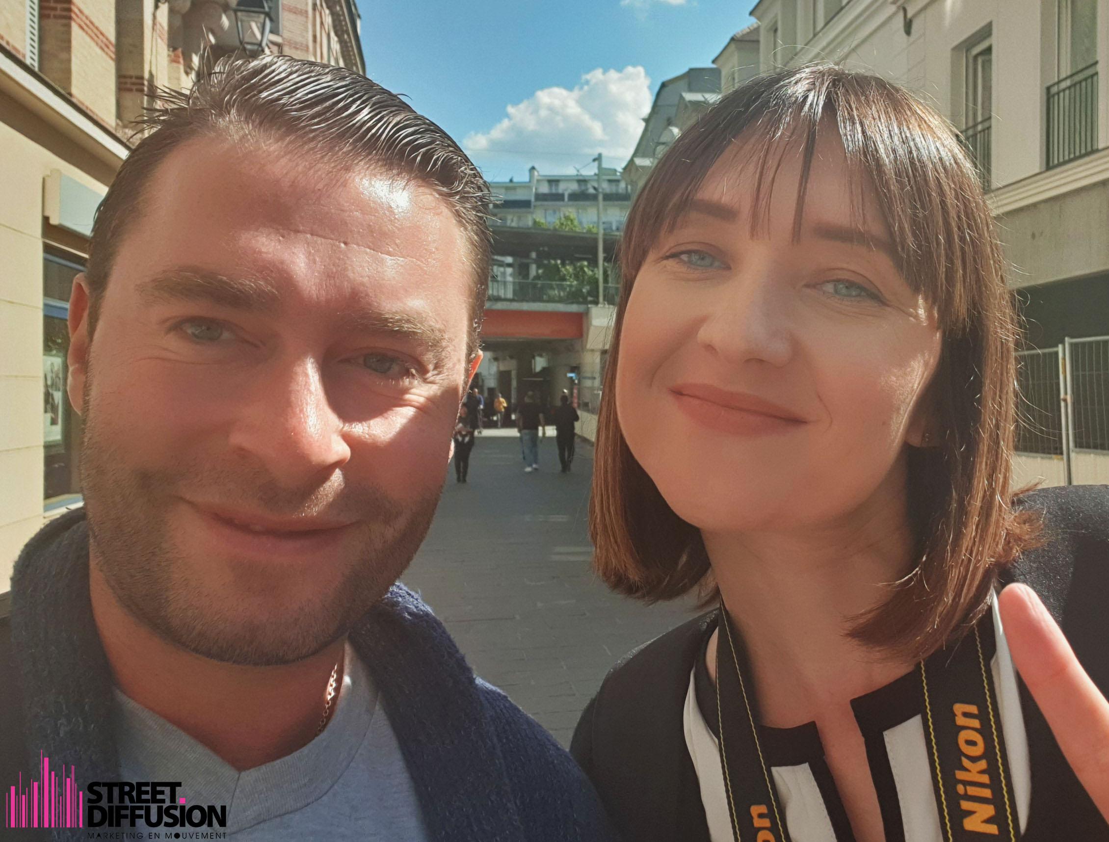 Stéphane Keniger et Elena Mironenko - Street Diffusion