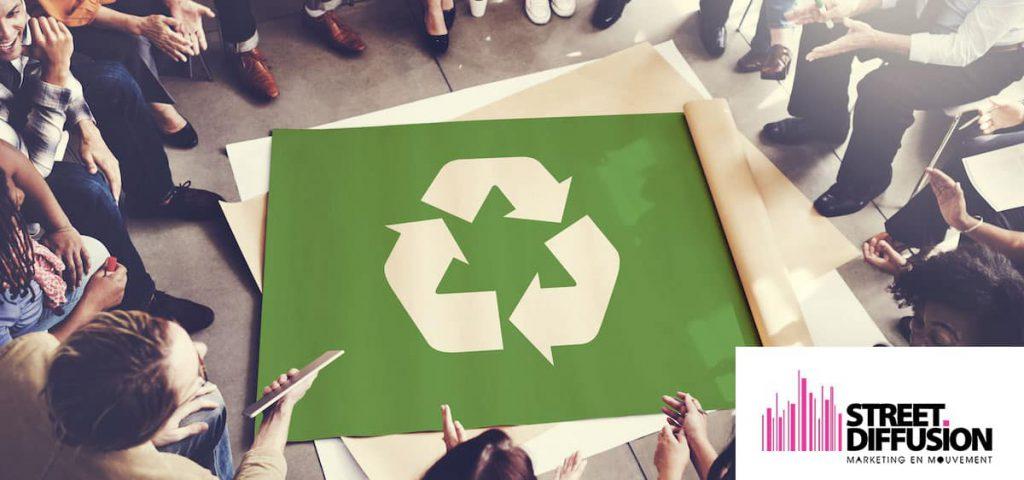 street marketing écologique - Street Marketing
